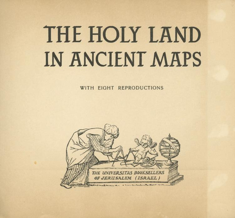 Collection of Research Books and Catalogues on the Subject of Maps