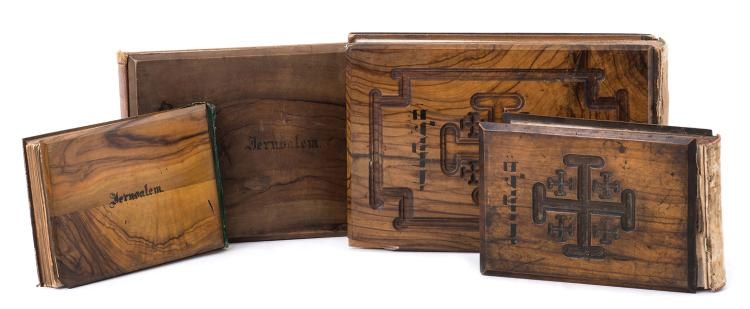 Albums of Pressed Flowers - Olive Wood Bindings - Vester and