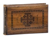 Photographs of the Holy Land - Olive-Wood Binding -