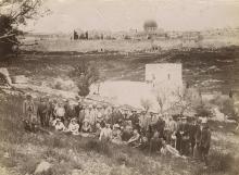 Five Photographs - Jerusalem, Mar Saba Monastery, Bethany and the Dead Sea, 1894