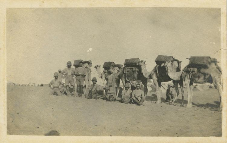 Album of Photographs - British Soldier during World War I - Egypt and Palestine, 1917-1918