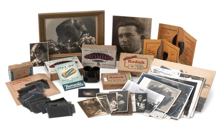 Collection of Photographs from the Estate of the Photographer Falu Zivlin - First Half of 20th Century