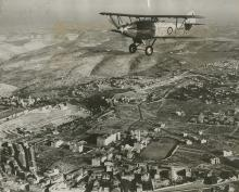 Three Aerial Photographs of Palestine - Royal Air Force Flights - 1936