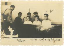 Photograph - Shlomo Ben-Yosef in Court, 1938 - First of Olei Hagardom