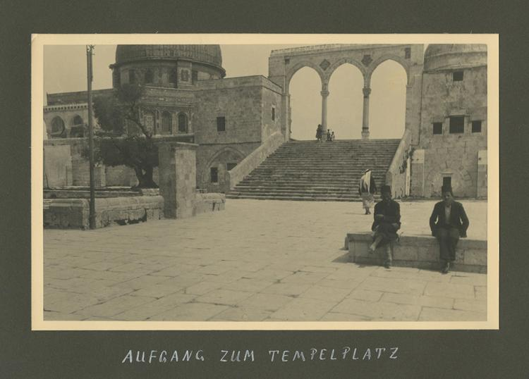 Album of Photographs and Translation of a Diary - Journey to Palestine in 1932 -