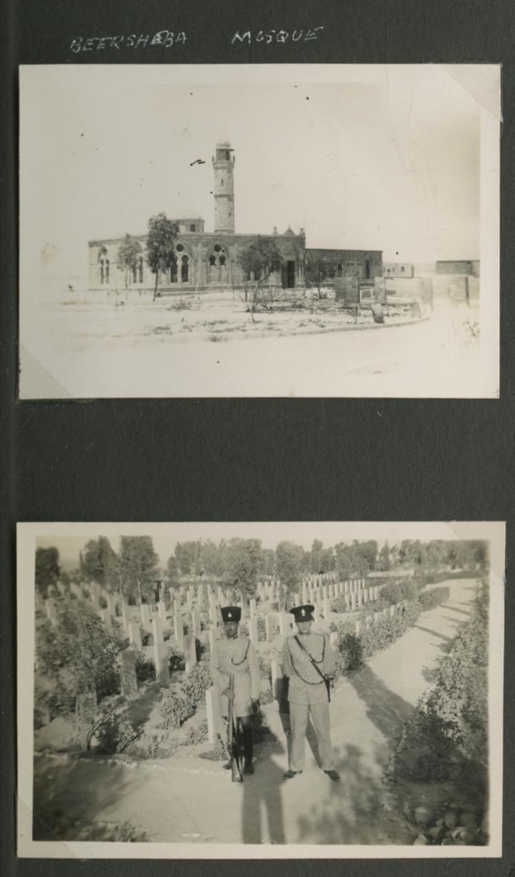Album of Photographs - British Soldier - Beersheba, the Negev and Egypt