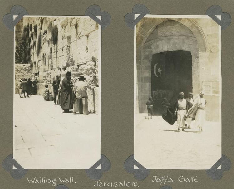 Album of Photographs - British Soldier in Egypt and Palestine, 1930s