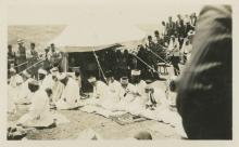 Collection of Photographs - Samaritan Prayers and the Sacrificial Passover Ritual on Mount Gerizim