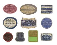 Large Collection of Bookstore Labels