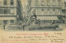 Postcard with a Dedication Handwritten by Theodor Herzl - Vienna, 1899