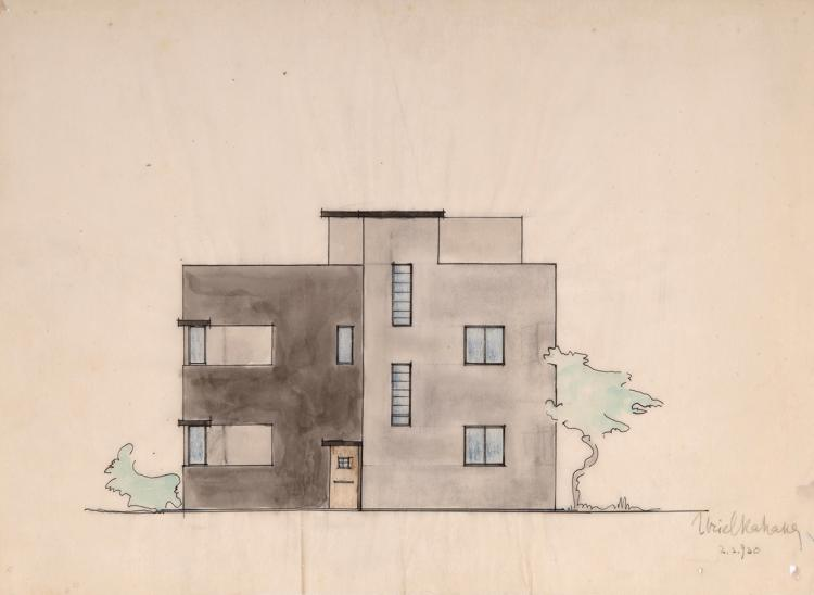 Collection of Architectural Drawings and Interior Design Drawings - Uriel Kahana