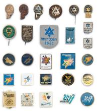 Collection of Badges and Pins -