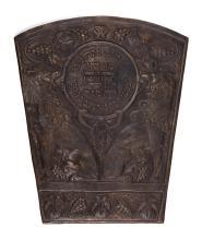 Two Decorative Cast Plaques -