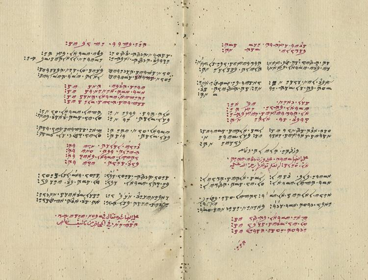 Samaritan Manuscript - Siddur and Piyyutim for Holidays, 18th-19th Century