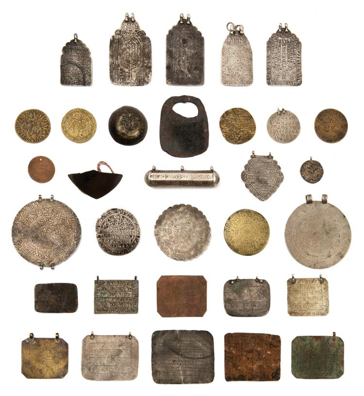 Large Collection of Amulets - Persia