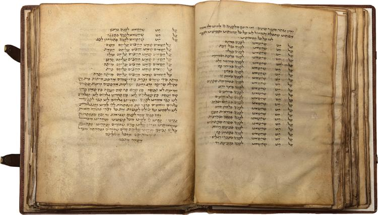 Machzor for Yom Kippur, According to the Roman Rite - Vellum Manuscript - Italy, 15th Century