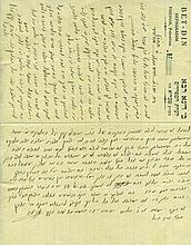 Collection of Letters and Documents / the Birdugo Family in Jerusalem, Tiberias and Meknès