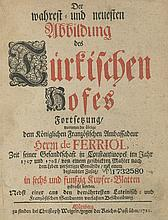 Pictures from the Turkish Sultan Court –Book with Tens of Portrait- Engravings – Nuremberg, 1721