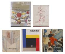Collection of Books about Bauhaus Style