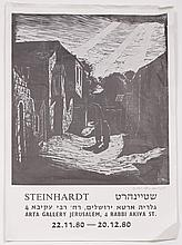Jacob Steinhardt (1887-1968) ? Four Woodcuts and Two Exhibition Posters