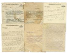 Collection of Documents - Arab-Palestinian Delegation to London, 1921-1922
