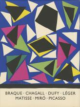 Posters of École De Paris Artists, 1959 - Reproductions of Posters Designed by Chagall, Matisse, Miro and others