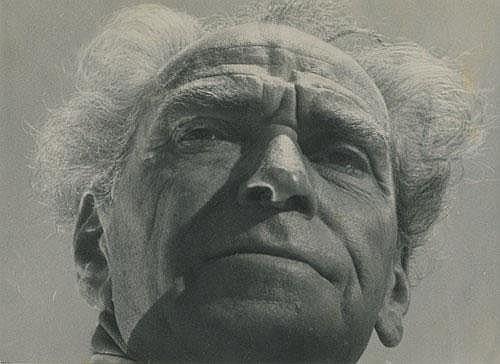 Walter Zadek - Portrait of Helmar Lerski