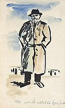 Yosl Bergner (b. 1920)