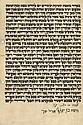 Ketubah on Parchment - Strasbourg, 1910