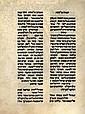Facsimile on Parchment - Passover Haggadah, Guadalajara - First Printed Haggadah