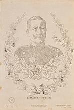 Printed Micrography - Emperor Wilhelm II