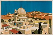Jerusalem - Poster - London, 1920s