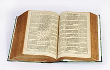 Polyglot Bible - Nuremberg, 1599 - Hollow Letters
