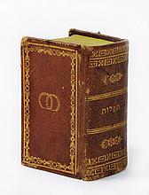 Miniature Siddur - Amsterdam, 1739