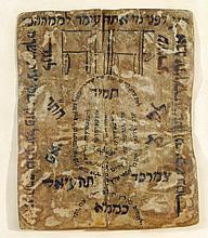 Two Amulets on Parchment