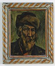 Portrait of a Jew - Oil Painting by Arthur Bryks
