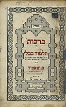 Babylonian Talmud - Zhitomir, 1858-1864