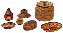 Wicker Baskets and Utensils - Yemen