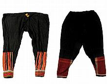 Two Pairs of Woman's Trousers - Yemen