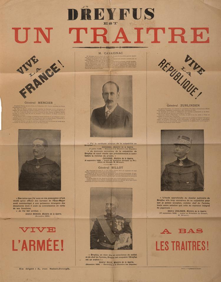 "france and the dreyfus affair ""poor france by the opening of the twentieth century her condition had sunk to  such a low the nation was no longer recognizable as the."