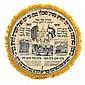 Printed Matzah Cover - Souvenir of R' Haim Berlin Yeshivah - USA, 1927
