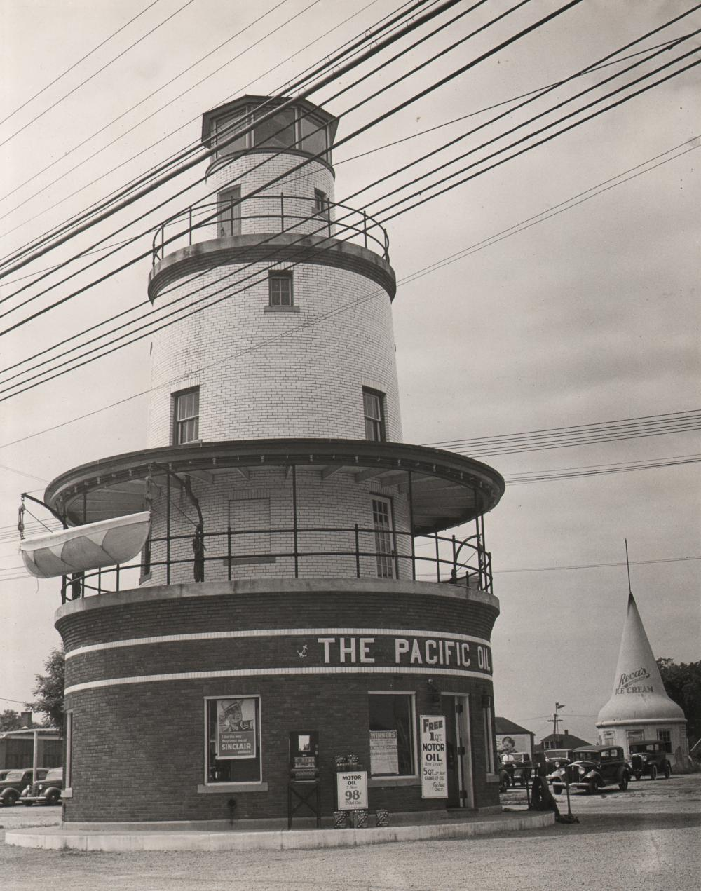 Eliot Elisofon, Roadside Diners, c. 1940