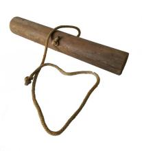Owned and used homemade wooden wrist roller