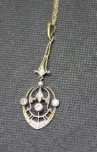Art Deco Gold & Diamond Necklace