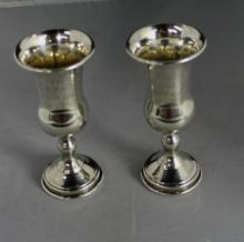 Two Antique 1926 Sterling Silver Trophies