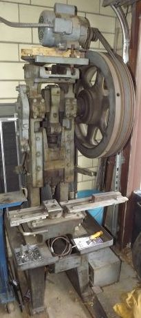 5 Ton Punch press, FW Bliss CO # 58 Brand