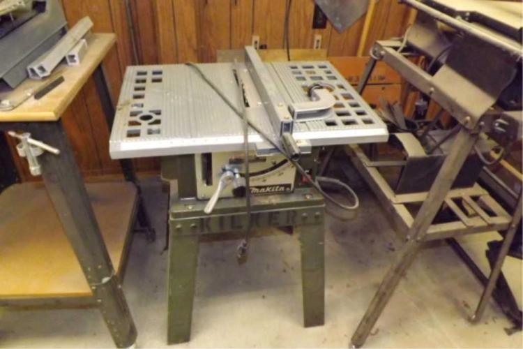 Makita 7 1 4 Portable Table Saw Mod 2708 Tested And Working