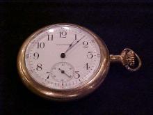 Waltham 3 O'clock stem Pocket Watch