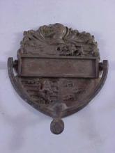 Early Brass Door Knocker