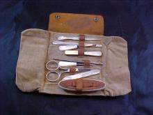 Mother of Pearl handled Manicure Kit